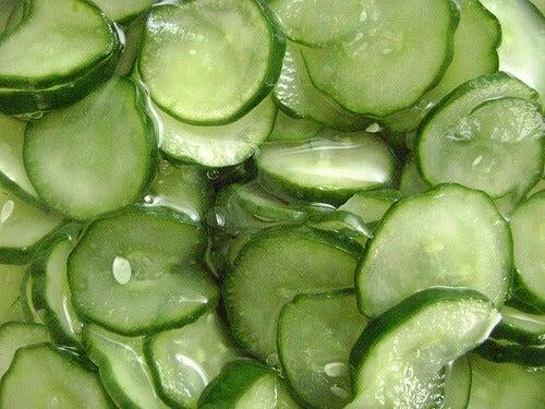 Краставиците като средство срещу задържане на течности