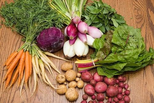 Зеленчуци срещу стомашните киселини