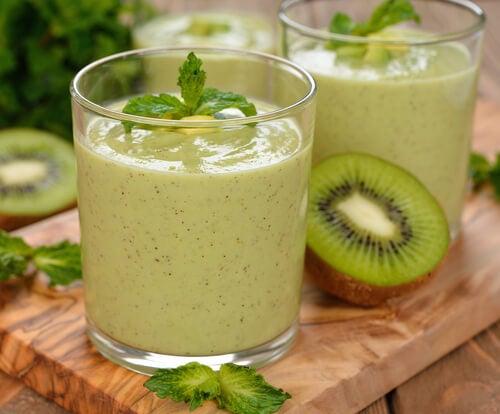 Зелени напитки за изгаряне на мазнини