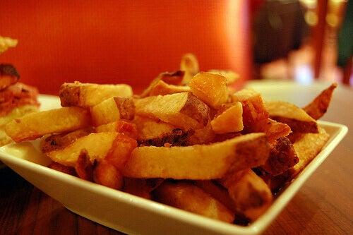 От пържените картофи лесно се пълнее.