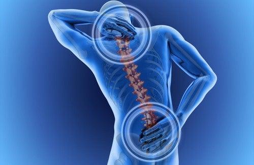 болката в гърба е сред първите симптоми на дискова херния