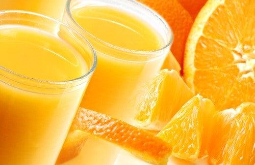 цитрусови плодове за детоксикиране на черния дроб
