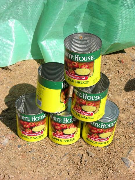Съхранение на консервирани храни в кутия