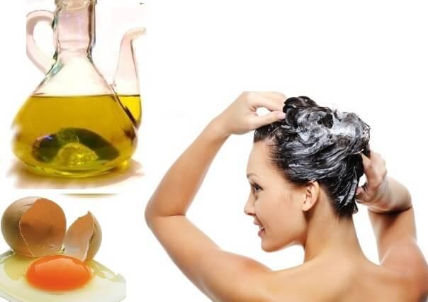 за да подмладите косата си, използвайте яйце, зехтин и мед