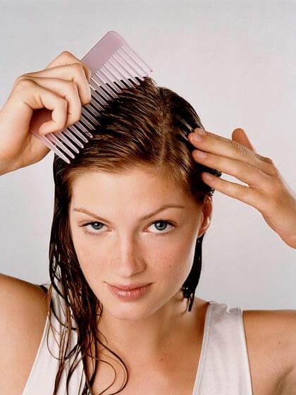 за да подмладите косата си, използвайте майонеза