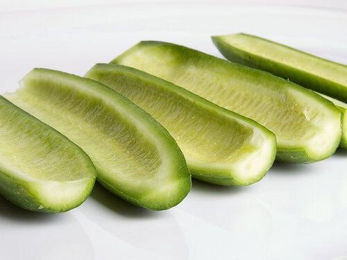 краставицата произлиза от Индия