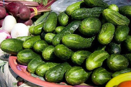 краставицата съдържа витамин C