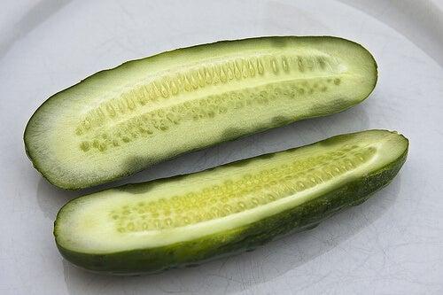 краставицата има силно диуретични свойства