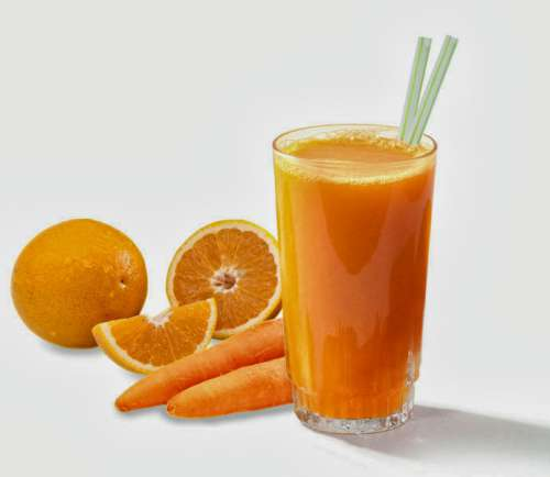Плодови комбинации с моркови и портокал