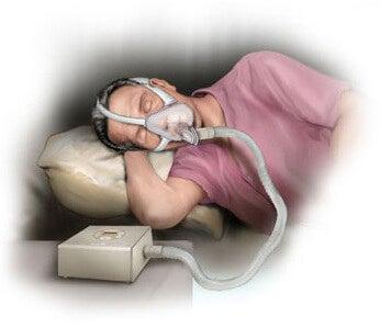 при сънната апнея се появява задъхване и затруднено дишане