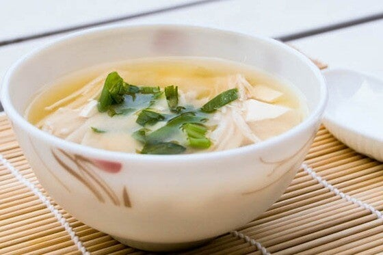 японската диета за отслабване - здравословна супа