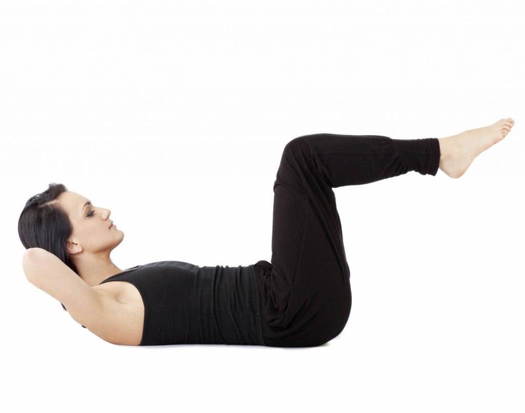 Упражнения за разширени вени от легнало положение