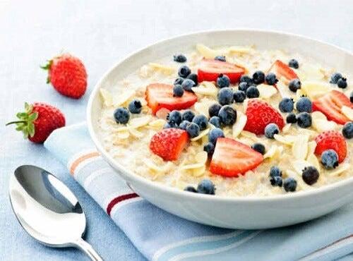 Закуска с овесени ядки против изтощението