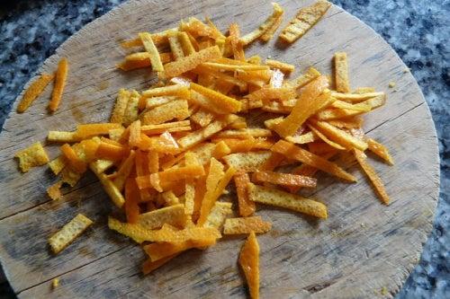 портокалови кори източник на фибри