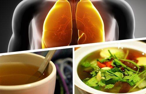 Пийте сокове за детоксикация на белите дробове
