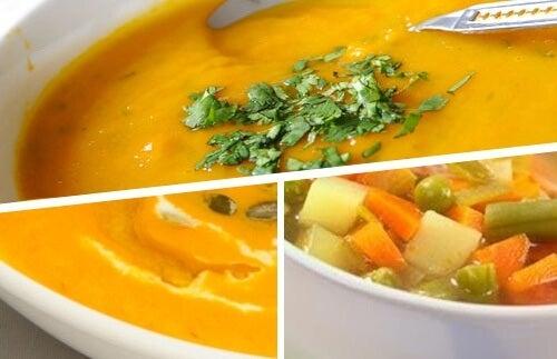5 вкусни вида крем супа за отслабване