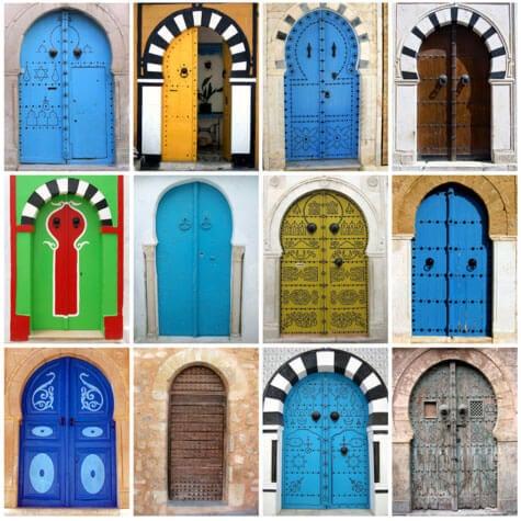 Входната врата се смята за финалният щтрих, който завършва къщата