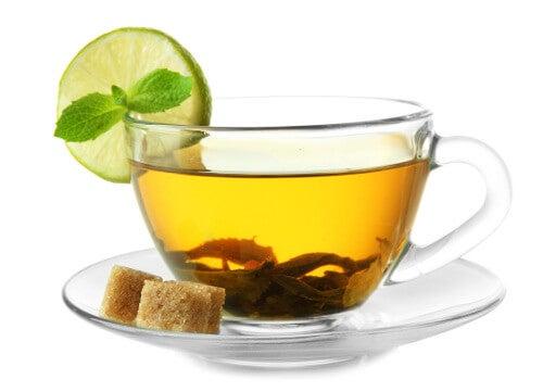 зелен чай против стареене