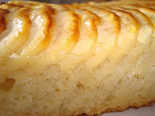 рецепта за  пухкав ябълков кекс