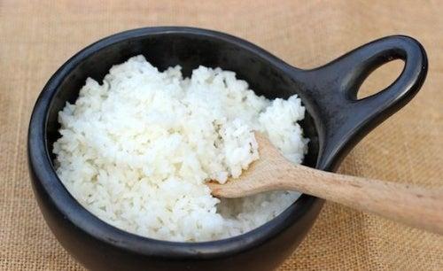 Оризът е съставка в подмладяващата японска маска за лице