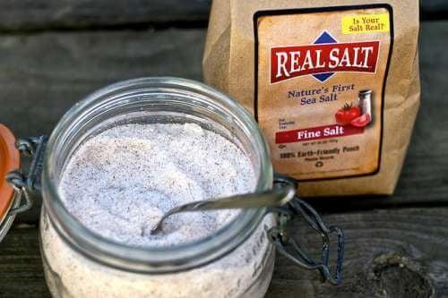 Тровим се с трапезната сол