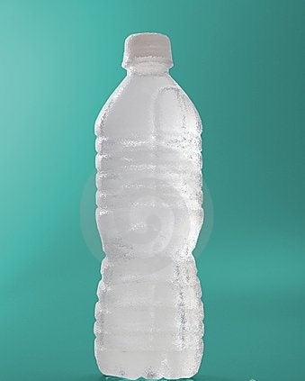 Търкалянето на шише с вода помага при шипове в петите.