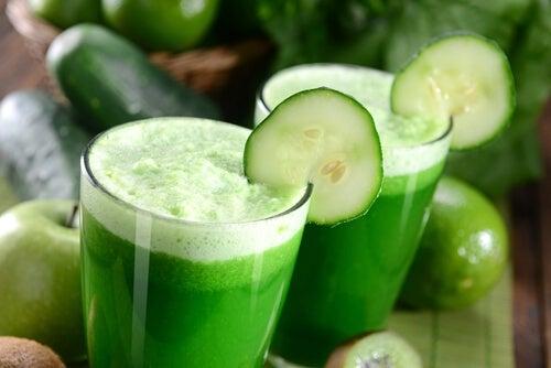 сок краставица за нисък холестерол