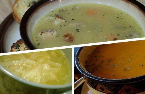 4 супи срещу настинка