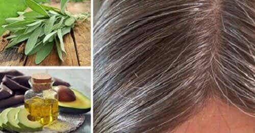 Причини за появата на бели коси и как да се справим