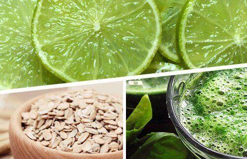 Отслабвайте с 3 храни: лимон, овесени ядки и спирулина