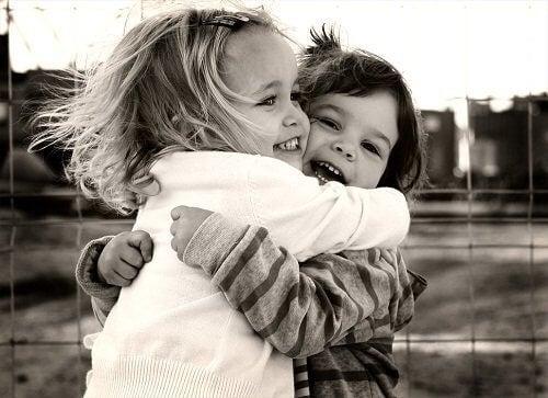 лечебната сила на прегръдката