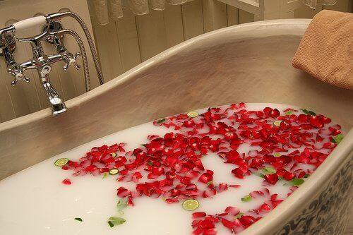 Релаксираща вана преди важнасреща