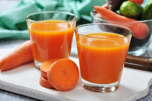 Сок от портокал и морков за укрепване на защитните сили на организма