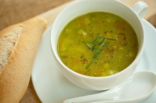 супата и подкожните мазнини