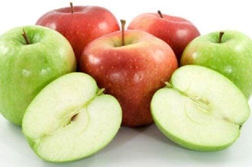 ябълките и подкожните мазнини