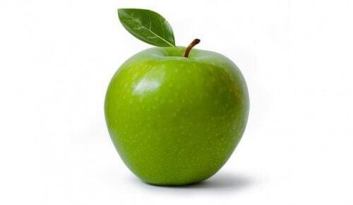 Как да горите калории: зелена ябълка