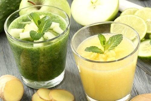 Пресните сокове помагат за детоксикация на цялото тяло