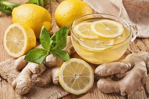 chai ot dzhindzhifil i limon
