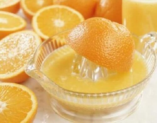 Портокалов сок при настинка