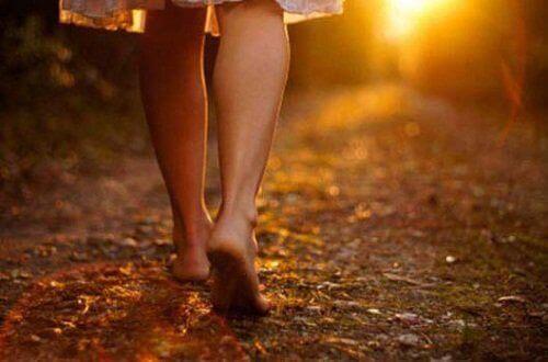 вървенето ви дава свобода