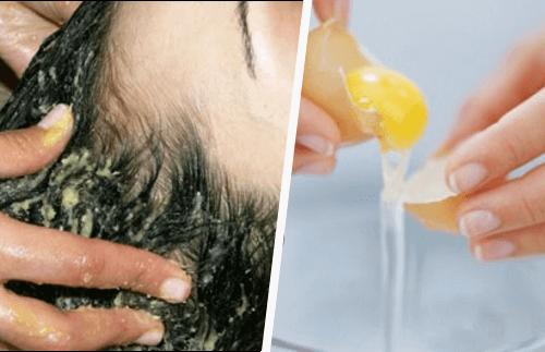 Маска с кисело мляко и яйце за по-чиста коса за по-дълъг период от време