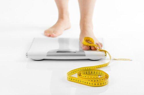Промени в теглото