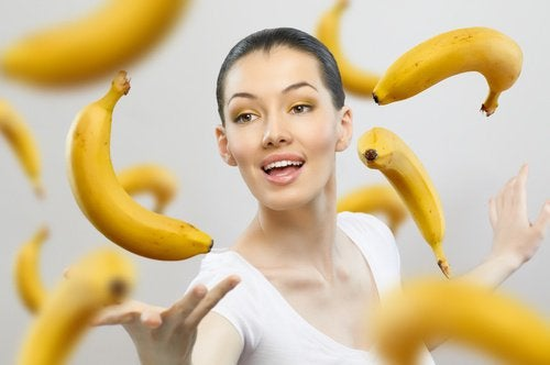 зрели банани