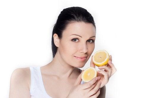 Лимоните могат да намалят значително тъмнте петна