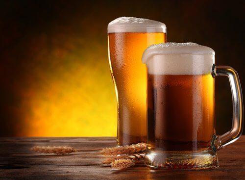 Пиене на бира при спазване на диета