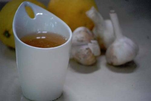 лечение на хипертония - чай от чесън