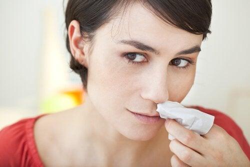 един от често срещаните проблеми е кръвотечение от носа