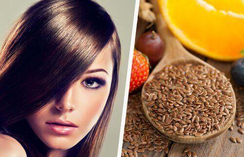 ползи от вода с ленено семе за укрепване на косата