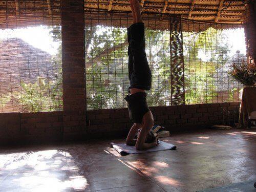 Йога при появата на разширени вени
