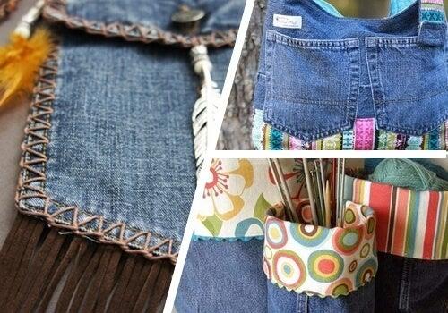 9 начина за повторно използване на старите дънки